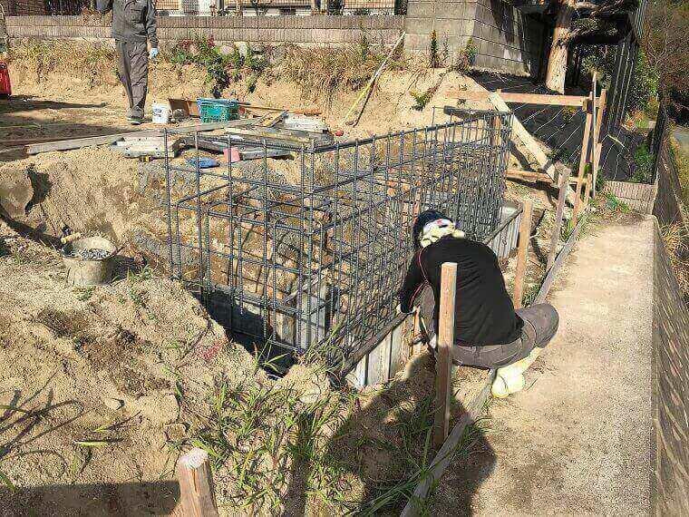 基礎工事の状況2