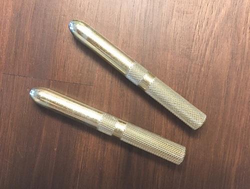HSS金物のゴールドのドリフトピン