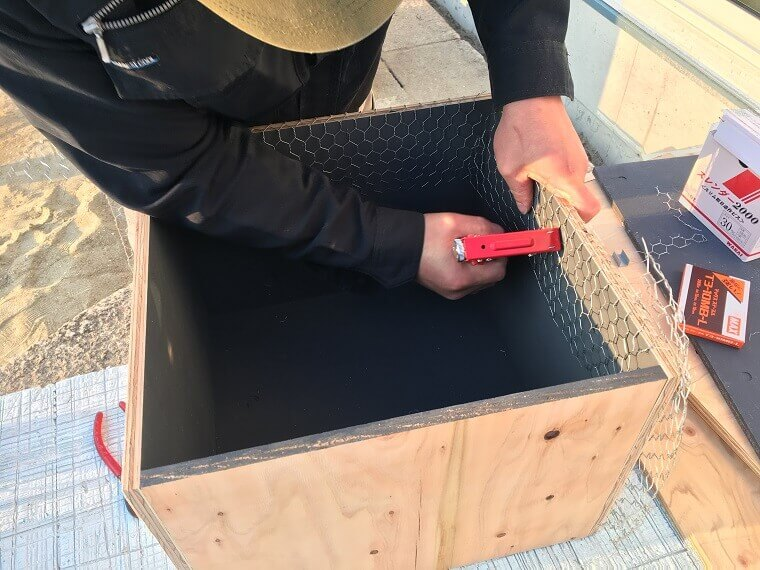セメント鉢プランター製作工程6
